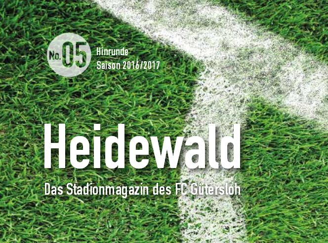 Stadionmagazin für das Ennepetal-Spiel